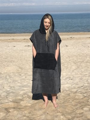 poncho hooded towel