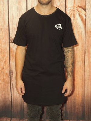black boarding shirt