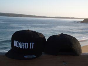 black snapback caps